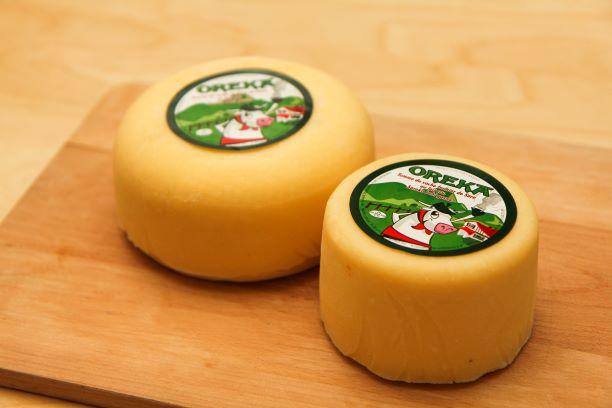 Différentes taille fromage de vache disponible à la vente